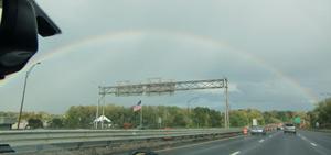 Rainbow in Springfield, MA