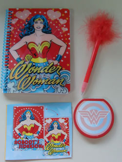 Wonder Woman Notebook Set