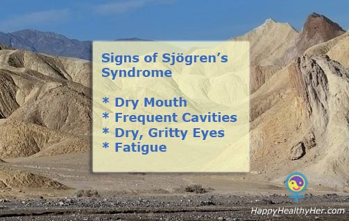 Signs of Sjogren's Syndrome