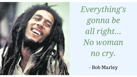 Everythings gonna be all right, Bob Marley
